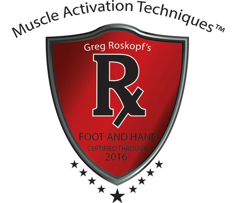 Muscle Activation Techniques - Foot & Hand - Certified Through 2016