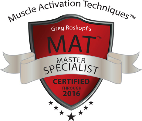 Muscle Activation Techniques - Master Specialist - Certified Through 2016